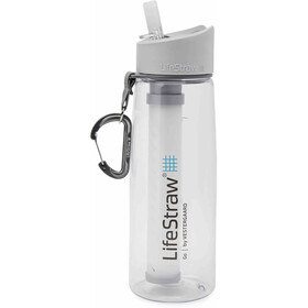 LifeStraw Go Water Filter Bottle 700ml, transparente